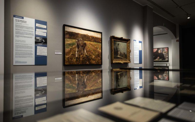 Blick in die Ausstellung über Max Stern. Foto: Landeshauptstadt Düsseldorf/Lars Heidrich