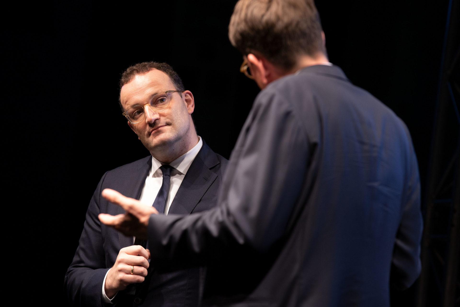 StŠndehaus Treff mit Jens Spahn , Bundesminister fŸr Gesundheit