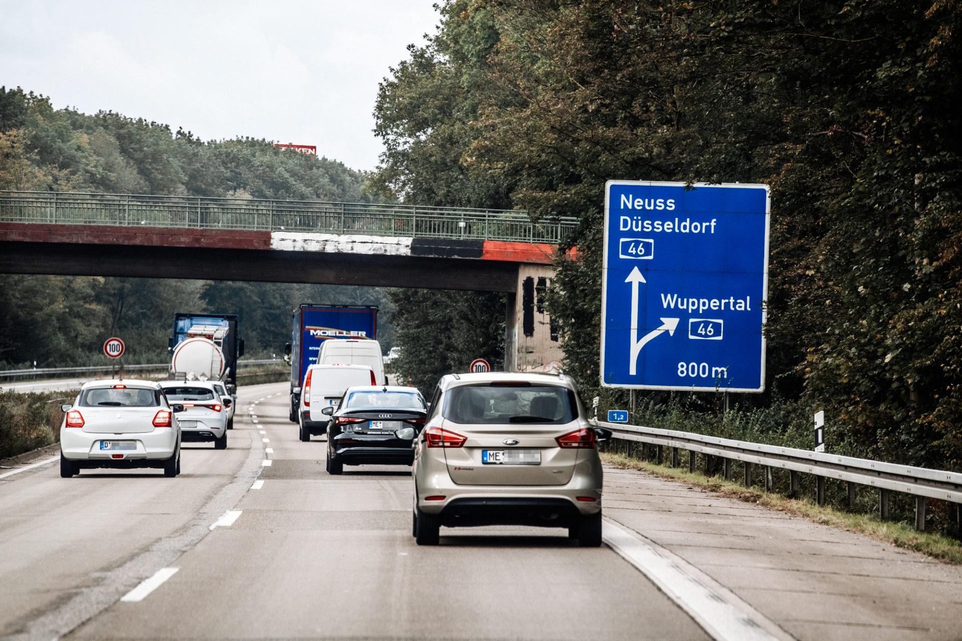 Autobahnschild A 59