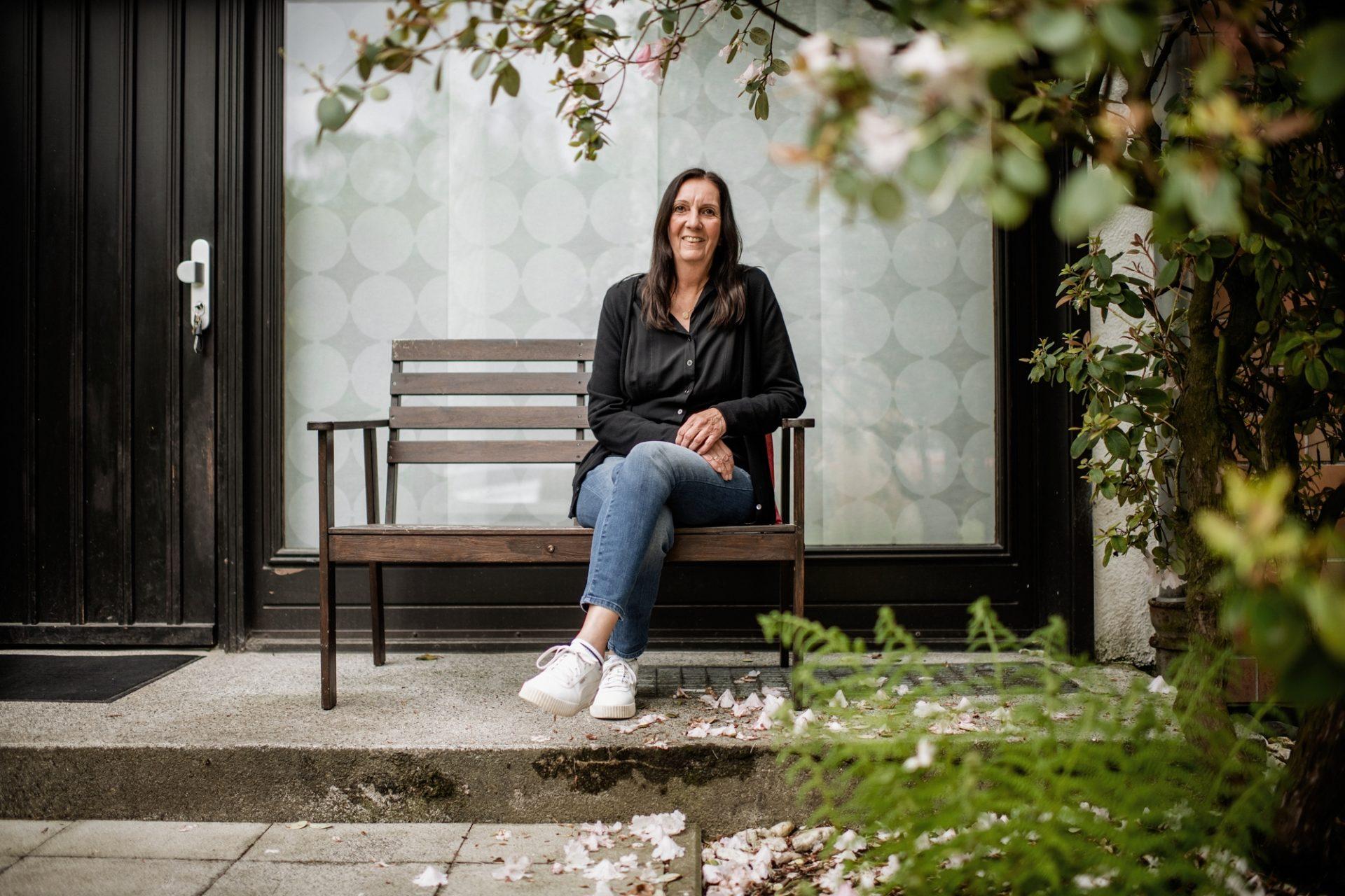 Karin Engstler hatte ein bedingungsloses Grundeinkommen für ein Jahr gewonnen und ist seitdem eine noch größere Befürworterin dieses Konzepts. Foto: Andreas Endermann